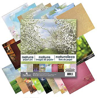 Paper House Double Sided Paper Pad 12