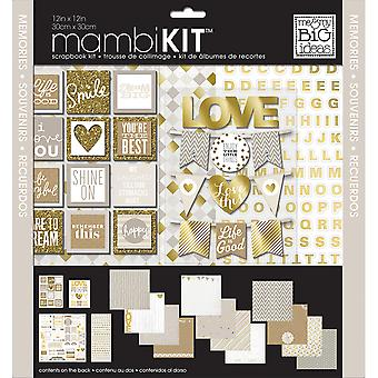 Me & mijn Big Ideas pagina Kit 12