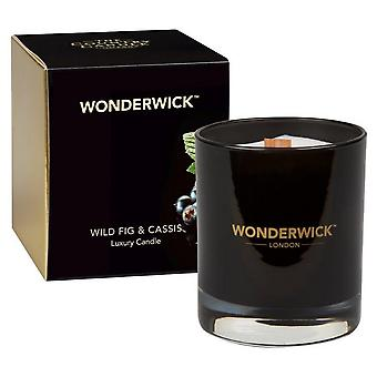 Wonderwick Noir Candle in a Glass - Wild Fig & Cassis