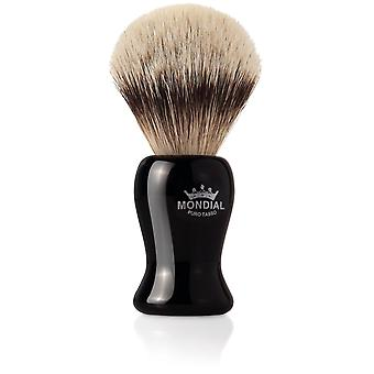 Mondial 1908 Black Badger Shaving Brush Diameter 24Mm (Man , Shaving , Brushes)