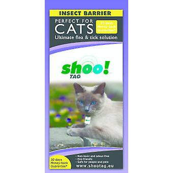 Shoo!Tag A packet of Ticks and Fleas for Cats