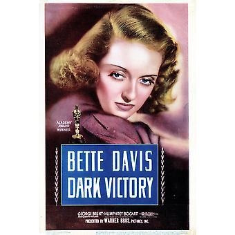 Dark Victory Movie Poster stampa di alta qualità