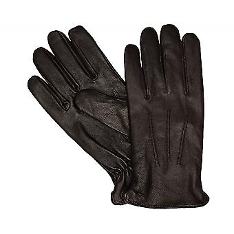 Type of Shaper gloves men's gloves leather winter gloves Brown 3357