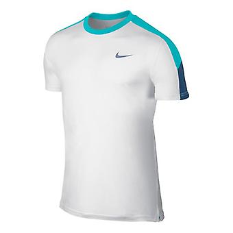 Nike Team Cour équipage T-Shirt homme blanc 644784-107