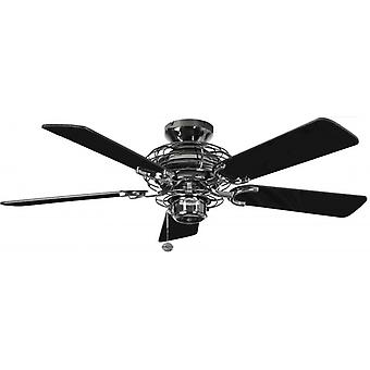 Ceiling Fan Gemini Pewter with pull cord 107 cm / 42""