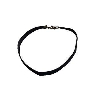 Minimalist statement choker necklace bronze