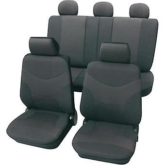 Petex Vesuvius Universal car seat cover set Grey 17 pieces