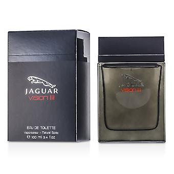 Jaguar Vision lll Eau De Toilette Spray 100ml / 3,4 oz