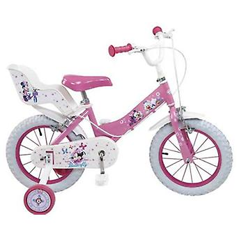 Toimsa Minnie Club House bicycle Girl 14 (Outdoor , On Wheels , Bikes And Tricycles)