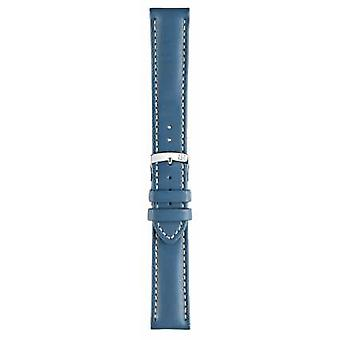 Morellato Strap Only - Castagno Grana Calf Light Blue 18mm A01U3687934064CR18 Watch