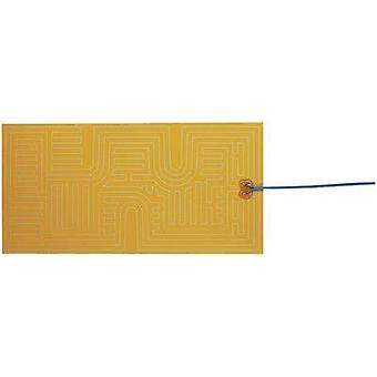 Heating foil self-adhesive 12 Vdc, 12 Vac 20 W Protection type IPX4 (L x W) 400 mm x 200 mm Thermo