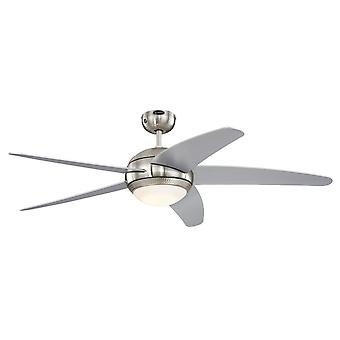 Westinghouse ceiling fan Bendan Silver with LED light