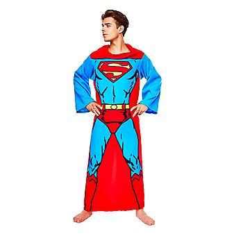 Official DC Comics Superman Lounger / Blanket With Sleeves