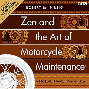 Zen and the Art of Motorcycle Maintenance (Audio CD) by Flannery Peter Pirsig Robert M.