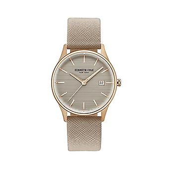 Kenneth Cole New York kvinders watch armbåndsur læder KC15109003