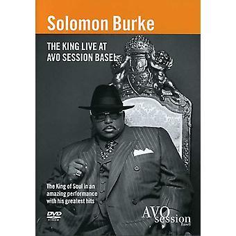 Solomon Burke - King Liveat Avo Session Basel [DVD] USA import