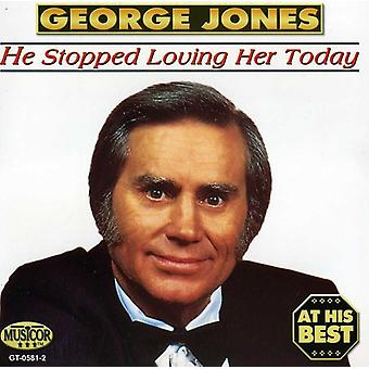 George Jones - At His Best [CD] USA import