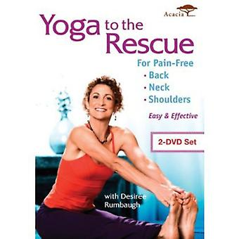 Yoga to the Rescue for Pain Free Back Neck & Shoul [DVD] USA import