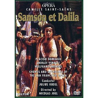 Importar de Estados Unidos de la ópera Sansón y Dalila-Comp [DVD]