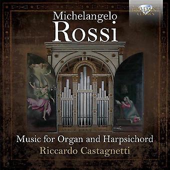Riccardo Castagnetti - Rossi: Música para la importación de los E.e.u.u. de órgano y Clavecín [CD]