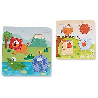 Item International Puzzle Madera Encajes 23X23 (Toys , Preschool , Puzzles And Blocs)