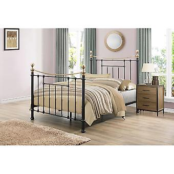 Birlea 135cm Bronte Bed Black