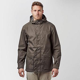 Khaki Craghoppers Men's Kiwi Waterproof Jacket