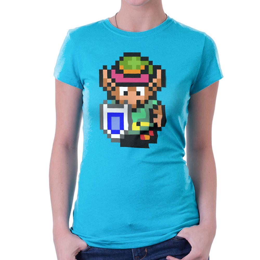 Legend Of Zelda Link Pixel Character Women's T-Shirt