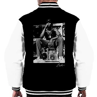 LL Cool J esecuzione 1980s Varsity giacca uomo