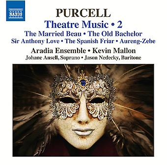 Purcell, Henry / Ansell, Johane / Mallon, Kevin - Purcell: Theatre Music 2 [CD] USA import