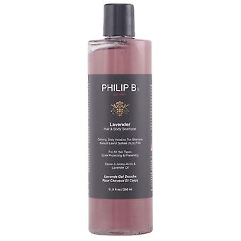 Philip B lavendel hår & Body Shampoo 350 Ml