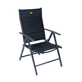 Camp 4 Ischia Mega Comfort XL Dark Frame Reclining Camping Chair