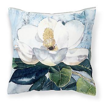 Carolines Treasures  8003PW1414 Flower - Magnolia Decorative   Canvas Fabric Pil