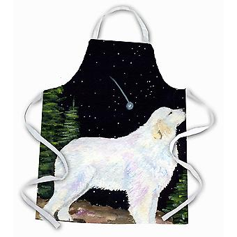 Carolines Treasures  SS8471APRON Starry Night Great Pyrenees Apron