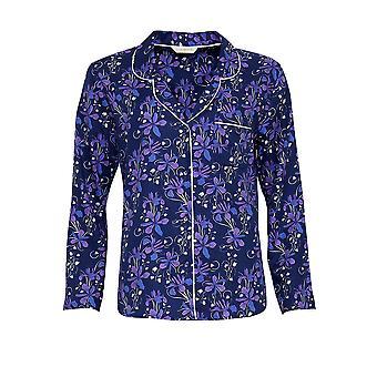 Cyberjammies 3567 Sadie Blå blommig pyjamas topp