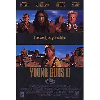 Young Guns 2 Movie Poster (11 x 17)
