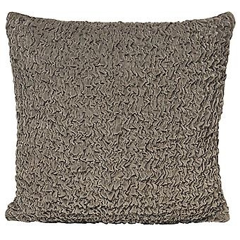 Riva Home Rouched Velvet Cushion Cover
