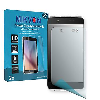 Alcatel Idol 4+ Screen Protector - Mikvon Armor Screen Protector (Retail Package with accessories)