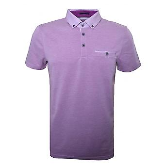 Ted Baker Ted Baker Mens Purple Super Polo Shirt