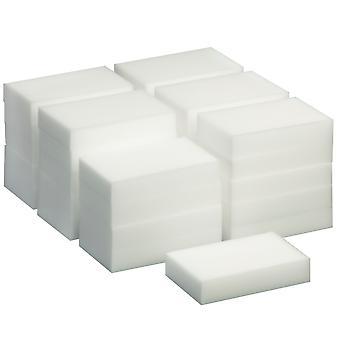 TRIXES 30 Pack magiska rengöring svamp Magic Eraser Stain Remover Pad Eco vit
