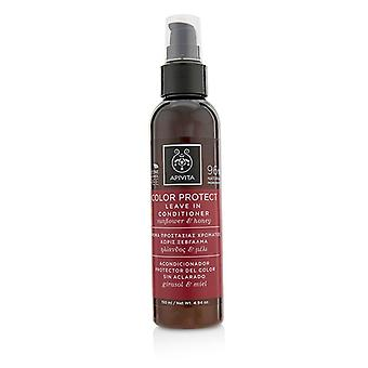 Apivita Color Protect Leave In Conditioner with Sunflower & Honey 150ml/4.94oz