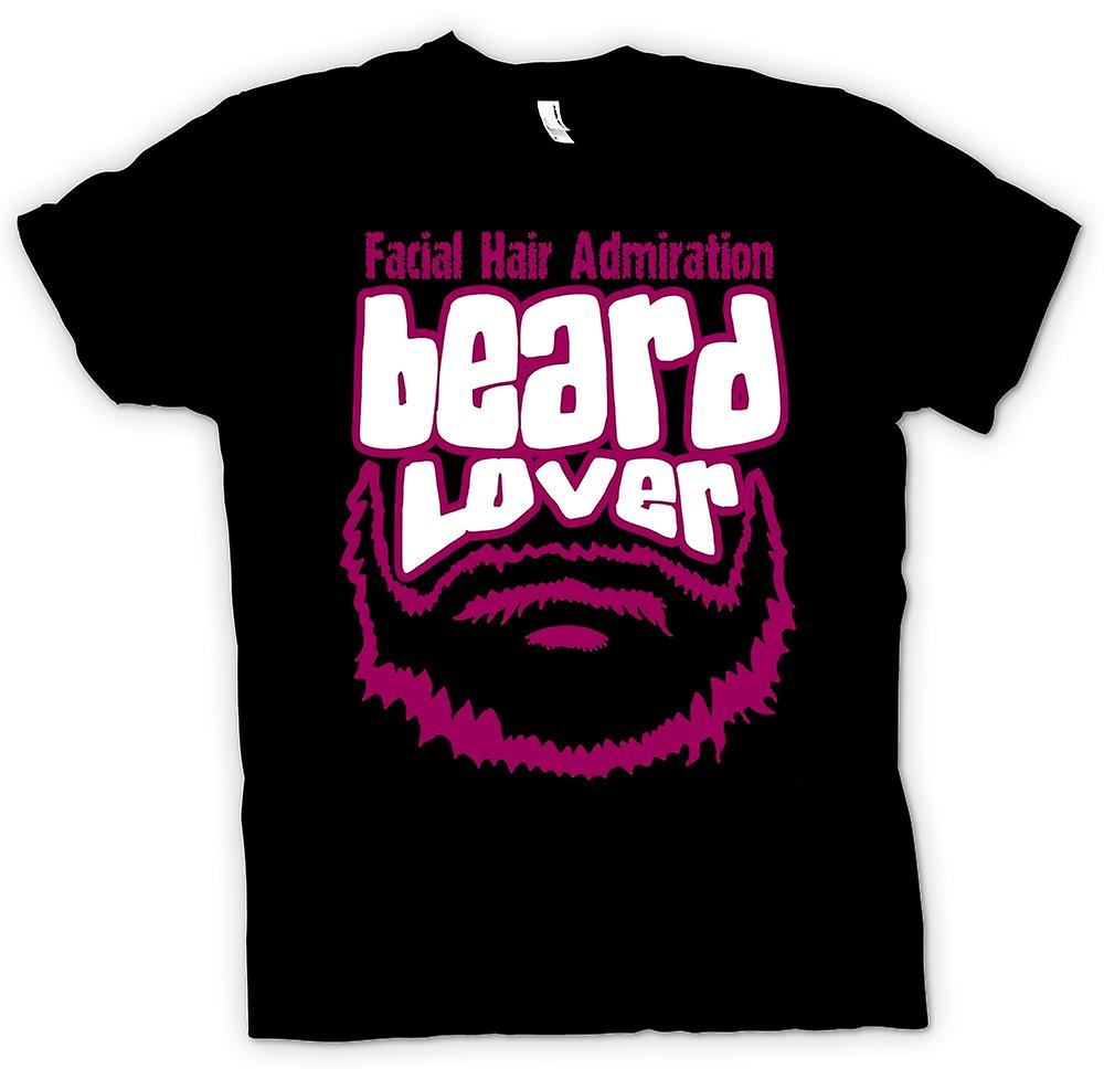 Mens t-shirt - barba amante - Funny
