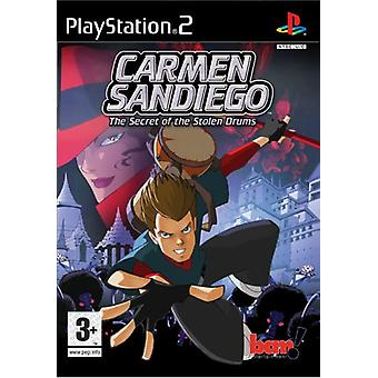 Carmen Sandiego le Secret des tambours volés (PS2)
