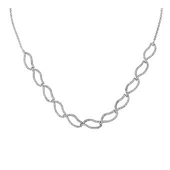 Orphelia Silver 925  Necklace Zirconium  ZK-2795
