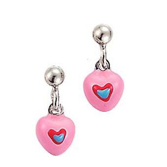 Scout Children earrings Stecher silver heart pink blue girl 262104100
