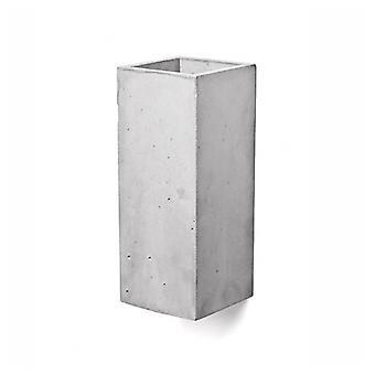 Beton lampe væg lampe Guro lys grå H: 25 cm 10636