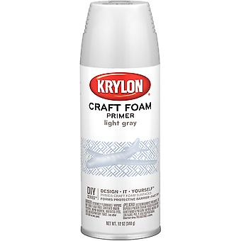 Styrofoam Safe Primer 12Oz-Light Gray