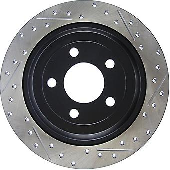 StopTech 127.61111L Sport Drilled/Slotted Brake Rotor (Rear Left), 1 Pack