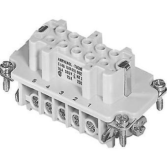 Amphenol C146 10B010 002 1 zócalo Inserte Amphenol C146 10B010 002 1 C146 10B010 002 1 co connectorsIndustrial para trabajo pesado