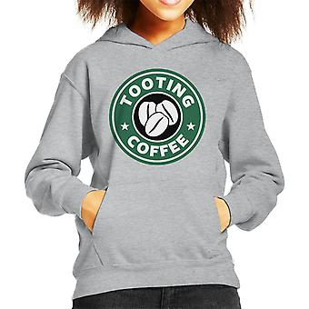 De moletom com capuz Tooting café Starbucks infantil